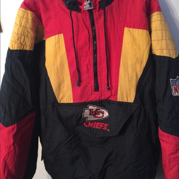 ceb856ab Kansas City Chiefs NFL Football Hoodie Jacket
